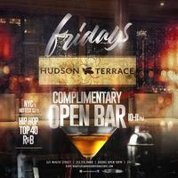 Fridays at Hudson Terrace w/ 1 Hour Open Bar