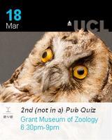 Grant Museum (not in a) Pub Quiz