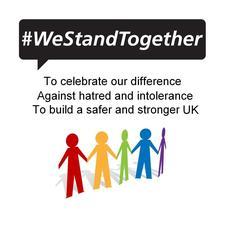 #WeStandTogether logo