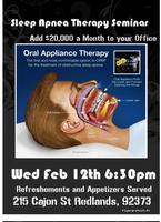 Sleep Apnea Therapy Seminar - Redlands