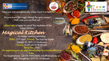 Magical Kitchen - Indian Cooking workshop