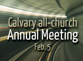 Calvary Annual Meeting