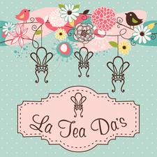 La Tea Da's Paint Boutique logo