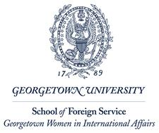 SFS Georgetown Women in International Affairs logo