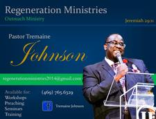 Pastor Tremaine M. Johnson logo