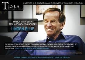 Tesla Awards Honors Linden Blue