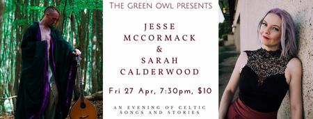 Sarah Calderwood and Jesse McCormack