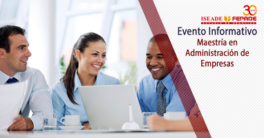 Evento Informativo - Maestría en Administración de...