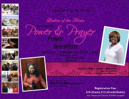 "1st Annual ""Power & Prayer"" Prayer Breakfast"