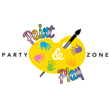 PAINT & PLAY PARTY ZONE logo