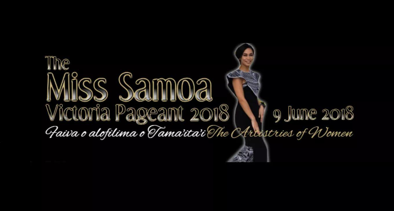 Miss Samoa Victoria Incorporated logo