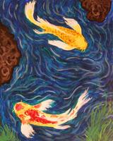 Pa'ina Paint Club - Fancy Koi