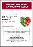 Anti-Inflammatory Raw Food Workshop