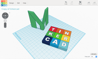 Tinkering with Tinkercad
