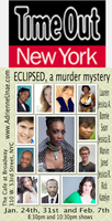 Eclipsed, a murder mystery