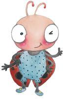 Author Carole Amber & Hiho Batik for LadyBug...