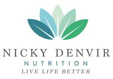 Nicky Denvir Nutrition and Movement for Living Well logo