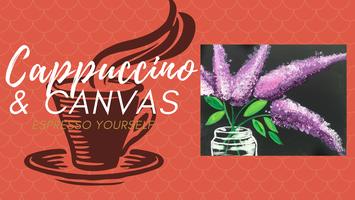 "Cappuccino & Canvas- May, ""Lilac"""
