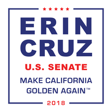 Erin Cruz for US Senate, California logo