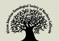 African American Genealogical Society of Northern California (AAGSNC) logo
