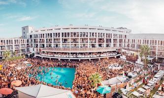 Lovely Laura & Ben Santiago Ibiza Closing Pool Party