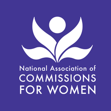 National Association of Commissions for Women logo