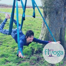 Let's Flyoga logo