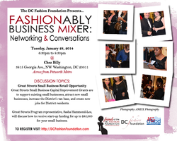 Fashionably Mixer: Great Streets Small Business...