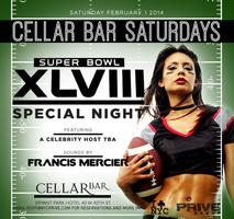 Superbowl Saturday at Cellar Bar