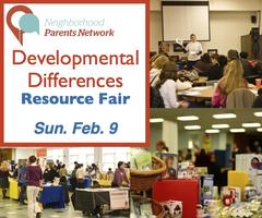 3rd Annual Developmental Differences Resource Fair