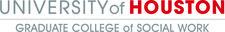 University of Houston - Graduate College of Social Work  logo