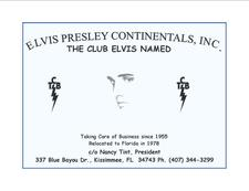 Elvis Presley Continentals Fan Club Inc logo