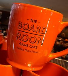 The Board Room Game Cafe logo