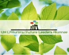 The LFAurora/Future Leaders Alumnae Group at the University of Hertfordshire logo