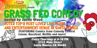 Grass Fed Comedy Presented by Bareburger
