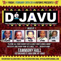 """DE' JAVU"" Throwback 90s & 2000s Party"