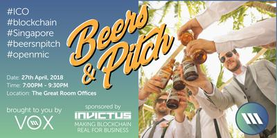 Beers&Pitch - ICO Pitches and Blockchain Networking...