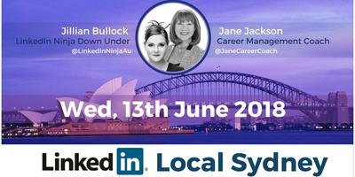 LinkedIn Local Sydney - 13th June 2018 #LinkedInLocal