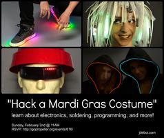 Hack-a-Costume: Mardi Gras Prep