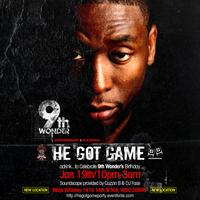 He Got Game: adrink...to Celebrate 9th Wonder's...