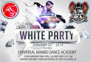 ERIC BAEZ MAMBO MAGIC BOOTCAMP & WHITE PARTY