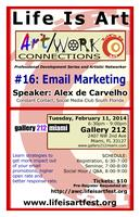 Art/Work Connections #16: Email Marketing with Alex de...