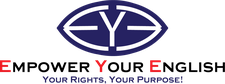 Empower Your English (EYE) logo