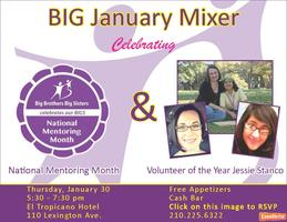 National Mentoring Month / Volunteer of the Year Mixer