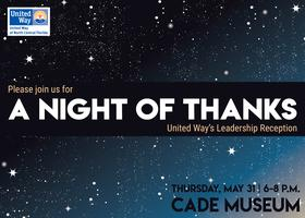 A Night of Thanks: United Way's Leadership Reception...