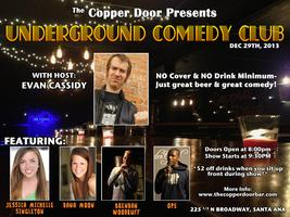 Underground Comedy Club: Live Standup Comedy (FREE)