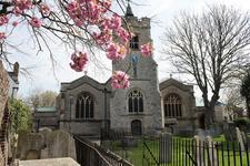 St Nicholas Church, Chiswick logo