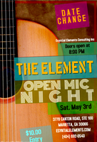 The Element Spoken Word & Open Mic Nite