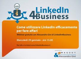 Come utilizzare LinkedIn efficacemente per fare affari