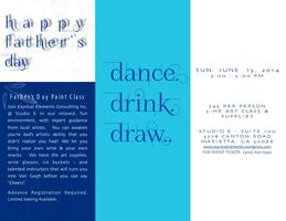 Father's Day Canvas & Cocktails